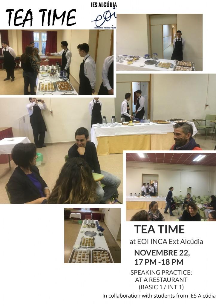TEA TIME 22 NOV