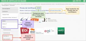 Explicació mostres exàmens certificat 1