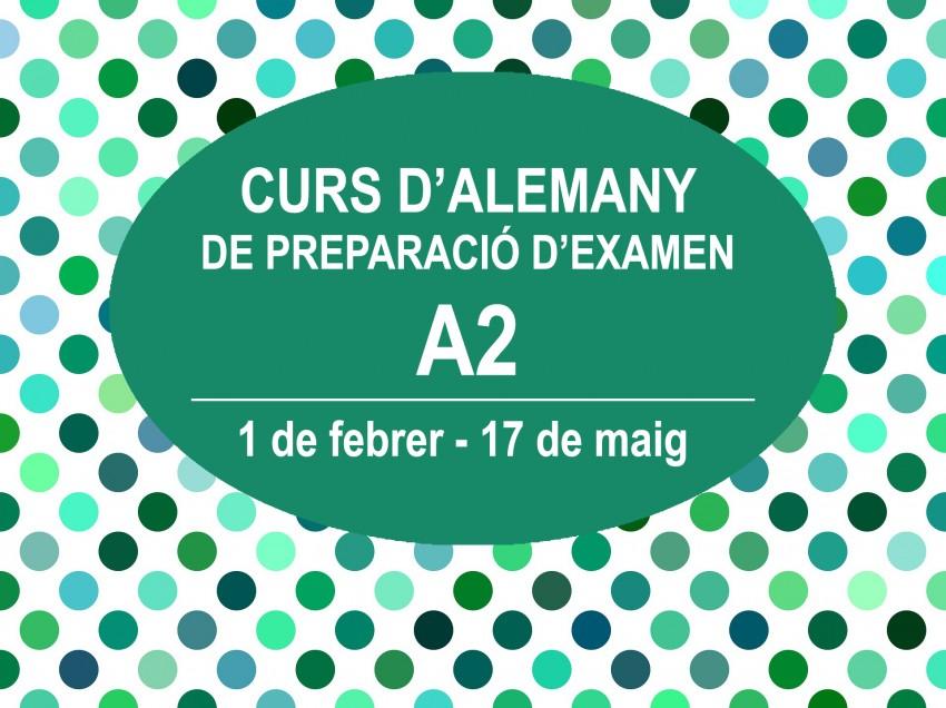 CURS D'ALEMANY DE PREPARACIÓ D'EXAMEN A2
