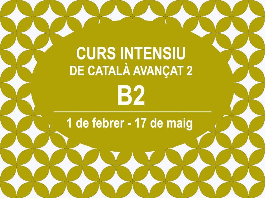 CURS INTENSIU DE CATALÀ AVANÇAT 2 (B2)