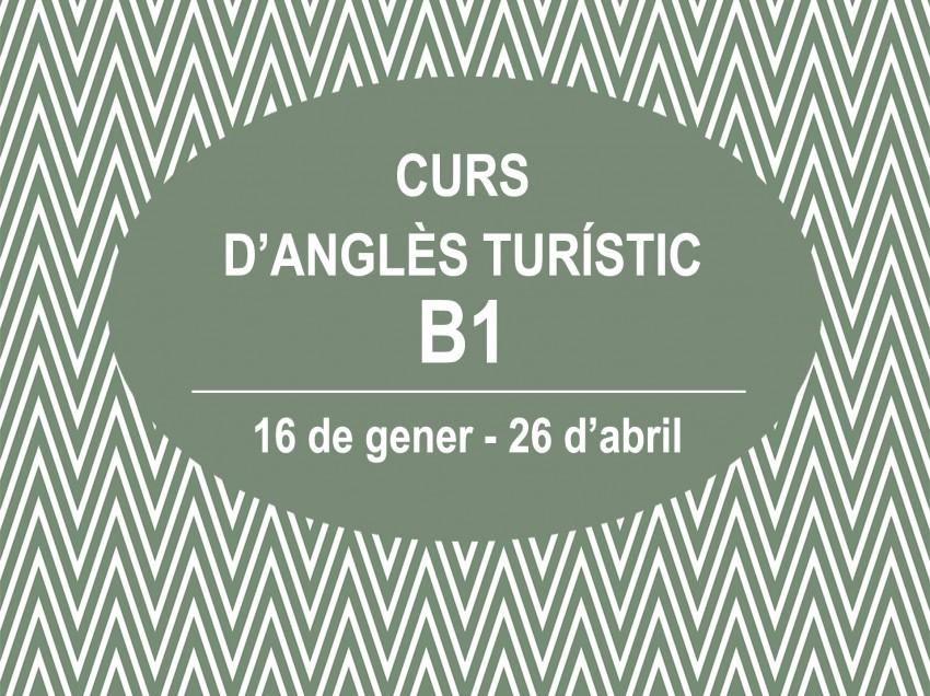 CURS D'ANGLÈS TURÍSTIC B1